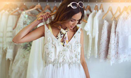 8 ideias de vestidos de noiva para baixinhas